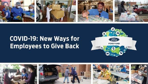El sitio web de Ford Fund describe las oportunidades de voluntariado y ofrece actividades en línea gratuitas para realizar en el hogar durante la pandemia. (Foto: Ford).