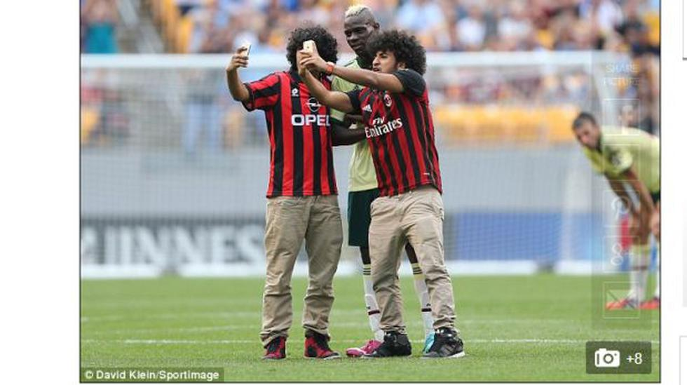 Selfie con Balotelli: los hinchas imponen una nueva costumbre - 2