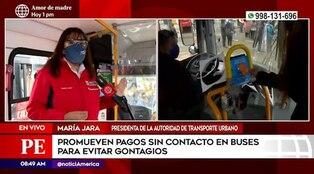 ATU implementa pago sin contacto en buses de transporte público