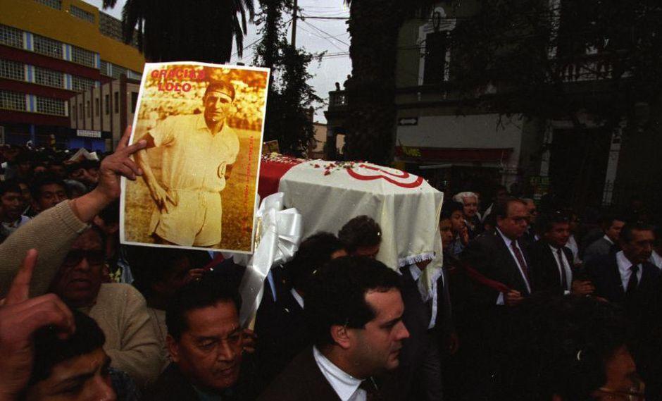Lolo Fernández falleció el 17 de septiembre de 1996, a la edad de 83 años | Foto: Archivo Histórico El Comercio