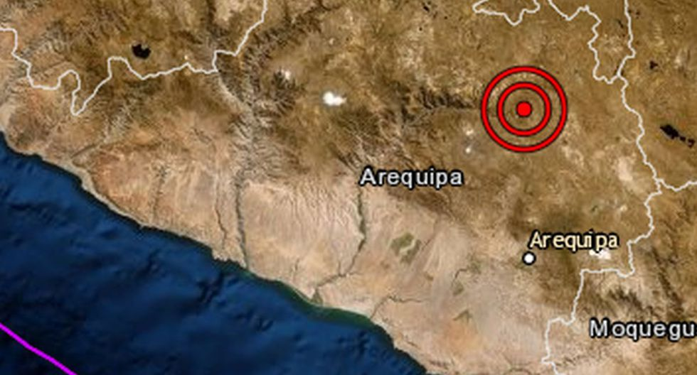 Indeci aún no han reportado daños personales ni materiales a causa del sismo. (Foto: IGP)