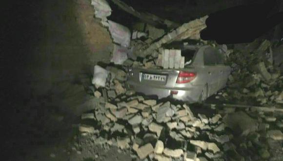 La fuerza del terremoto que sacudió frontera entre Iraq e Irán. (Foto: Twitter)