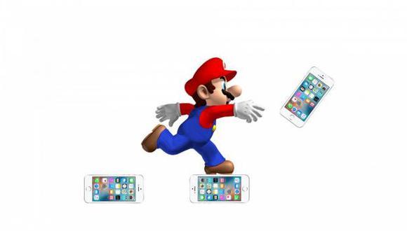 Super Mario Bros supera en expectativas inversión al iPhone 7
