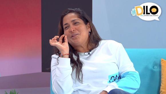 Katia Palma en #Dilo con Jannina Bejarano.