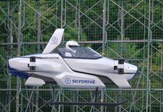 SkyDrive SD-03: El prototipo de auto volador que se acaba de probar en Japón   VIDEO