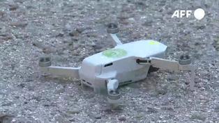 Madrid despliega drones para evitar multitudes en los cementerios