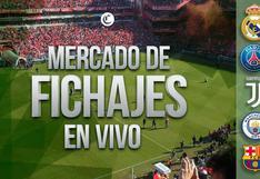 Mercado de Fichajes, hoy EN VIVO: última hora, altas, bajas y más en el fútbol de Europa