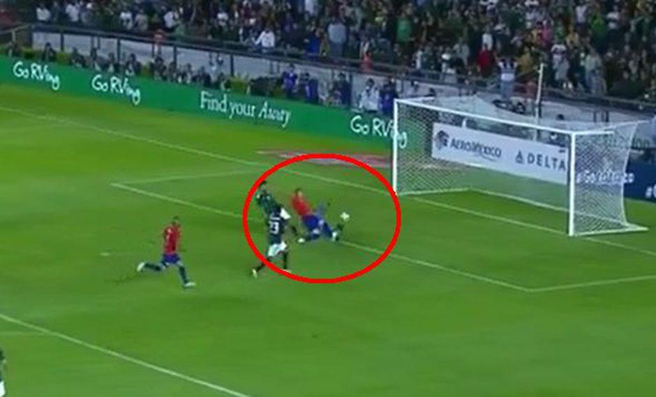 México vs. Chile: Castillo marcó el 1-0 por amistoso FIFA en La Corregidora | VIDEO. (Foto: Captura de video)