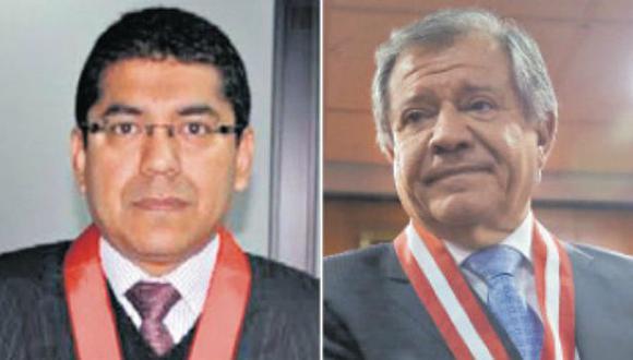 Martín Hurtado y Ángel Romero son integrantes titulares de la Corte Suprema de Justicia. (Composición: GEC)