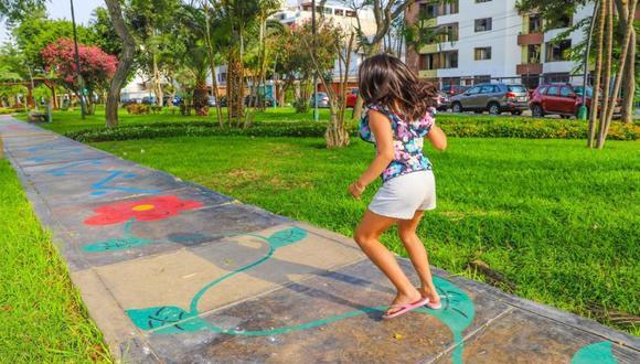 """Los objetivos del programa """"Vamos a jugar"""" son: motivar la enseñanza a través del juego, implementar técnicas lúdicas para la pedagogía y cooperar en la formación integral de los niños. (Foto: Municipalidad de San Borja)"""