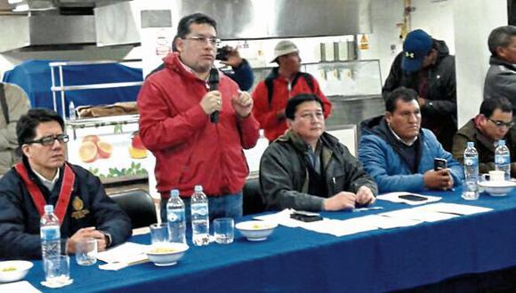 Levantan paro en Chumbivilcas tras reunión con el Ejecutivo
