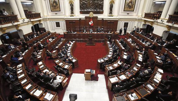 Pleno del Congreso decidió regresar a comisiones el proyecto para derogar la norma. (Foto: Renzo Salazar | GEC).