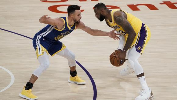 LeBron James y Stephen Curry pelearán por un cupo a los PlayOffs de la NBA