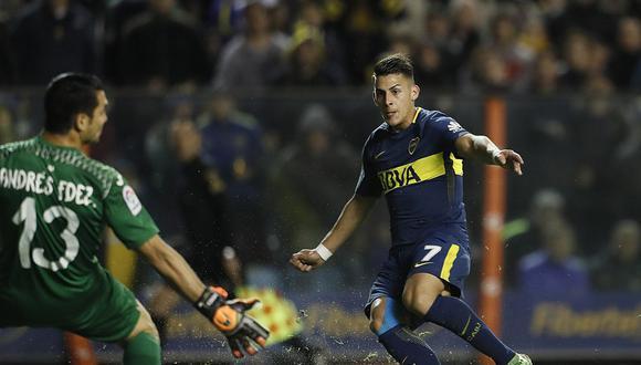 El Villarreal de España jugó por primera vez frente Boca Juniors en La Bombonera. La victoria fue para los dueños de casa. El tanto fue concretado por Cristian Pavón. (Foto: @BocaJrsOficial)