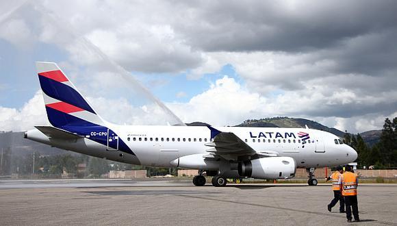 Latam lideró el transporte de pasajeros en vuelos nacionales en el Perú en el 2017. (Foto: El Comercio)