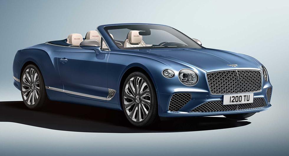 El Bentley Continental GT Mulliner Convertible será presentado el próximo 3 de marzo en el Salón de Ginebra. (Fotos: Bentley).