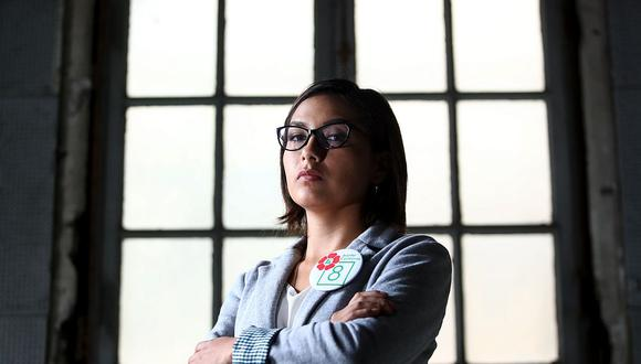 Arlette Contreras fue elegida congresista de la República en la lista del Frente Amplio. (Foto: GEC)