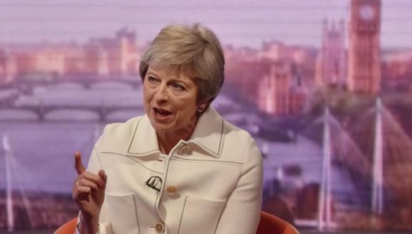 "La primera ministra británica develó cuál fue ese consejo de Trump que le pareció ""brutal""."