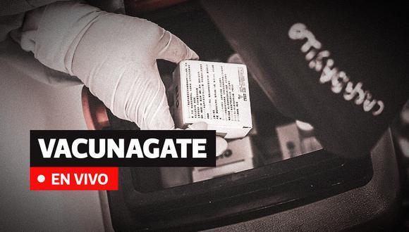 'Vacunagate' en Perú: últimas noticias sobre los funcionarios públicos que recibieron la vacuna Sinopharm (Foto: El Comercio)
