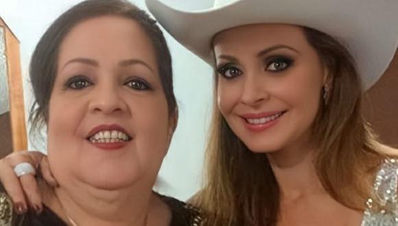 Gabriela Spanic en compañía de su madre, Norma Utrera. (Fotos: Instagram / @gabyspanictv).