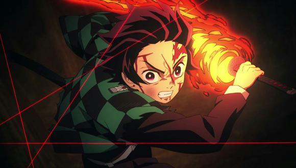 """Tanjiro Kamado, protagonista de """"Demon Slayer"""" (""""Kimetsu no Yaiba""""), serie animada que goza de gran éxito en Japón y otros países. Foto: Ufotable."""
