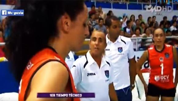Natalia Málaga tuvo fuerte discusión con una jugadora [VIDEO]