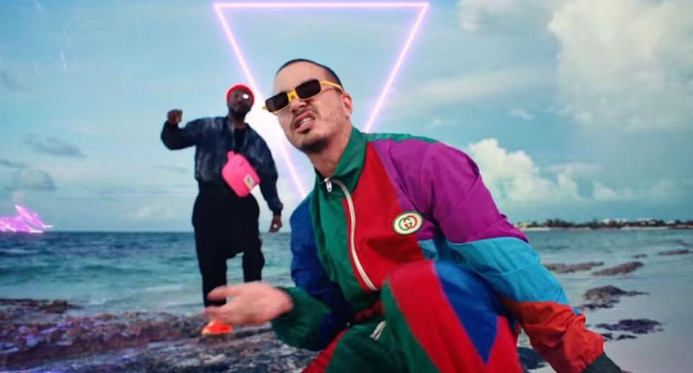 "Captura del videoclip del tema ""Ritmo"", interpretado por The Black Eyed Peas y J Balvin . (YouTube)"