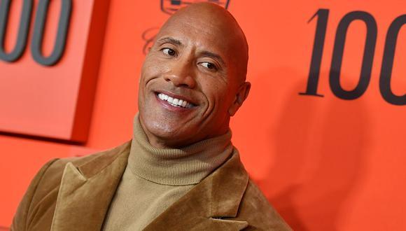 Dwayne Johnson es el actor mejor pagado de Hollywood. (Foto: AFP)