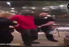 Policías estadounidenses arrestan a agente del FBI afroamericano por estar cerca de protestantes