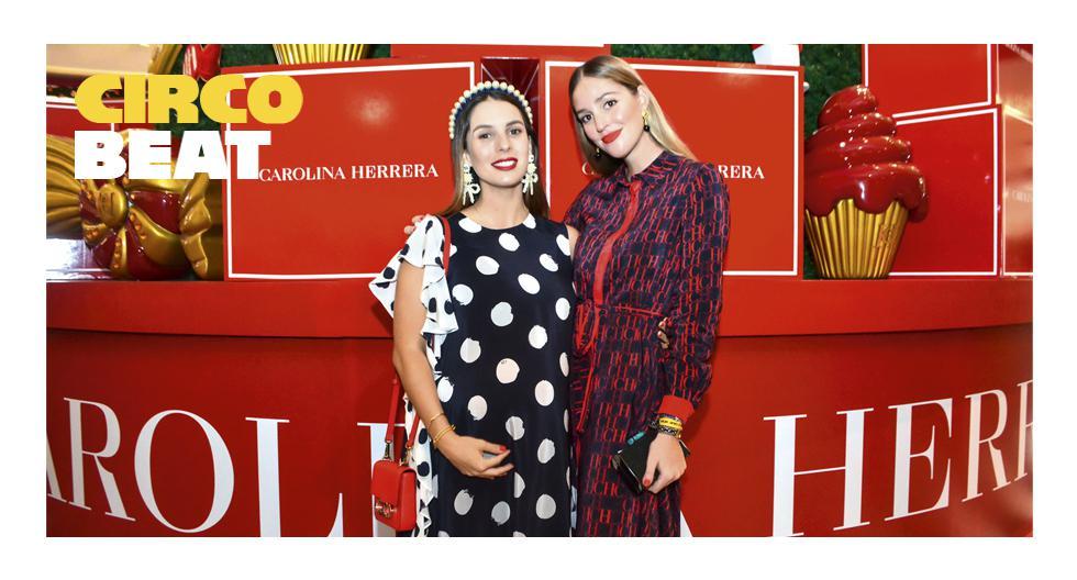 LUCES DE FIESTA. Ariana Santillana y Raffaella Camet, listas para el encendido del árbol de Carolina Herrera. Mall Real Plaza Salaverry.