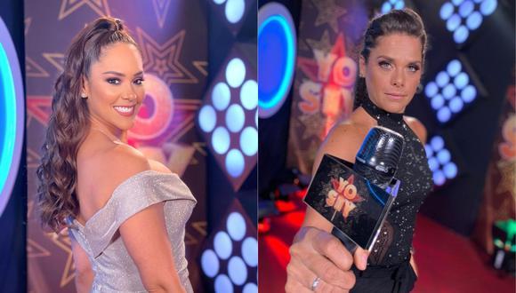 """Giovanna Valcárcel reemplazó a Karen Schwarz en la reciente edición de """"Yo Soy"""". (Foto: Captura Latina)"""