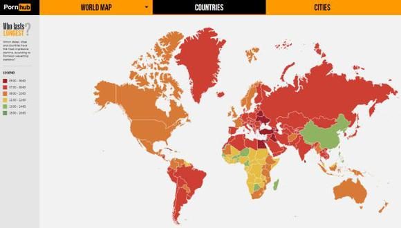 ¿Qué país ve más PornHub?