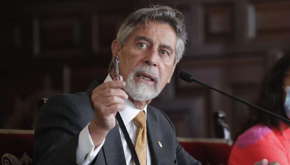 Ayer, durante la conferencia de prensa desde Palacio de Gobierno, el presidente Francisco Sagasti, junto a su gabinete, informaron sobre las medidas restrictivas que regirán en el país hasta fines de enero. (Foto: Andina)