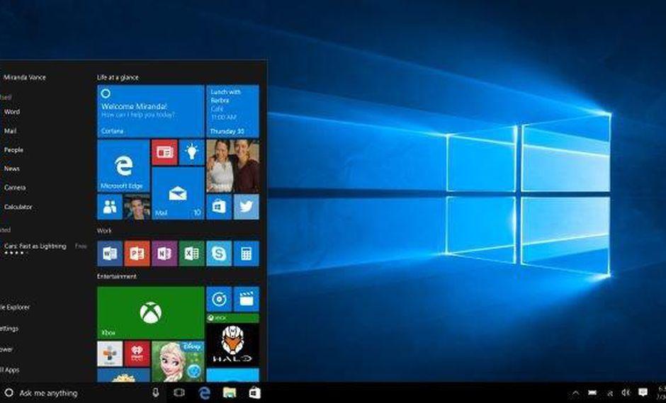Windows 10: ya está disponible la primera gran actualización