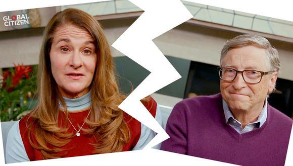 """Melinda Gates y Bill Gates en el evento """"One World: Together At Home"""", presentado por Global Citizen en abril del 2020, cuando todo parecía felicidad entre ambos. En mayo del 2021 ambos anunciaron su separación. Foto: AFP."""