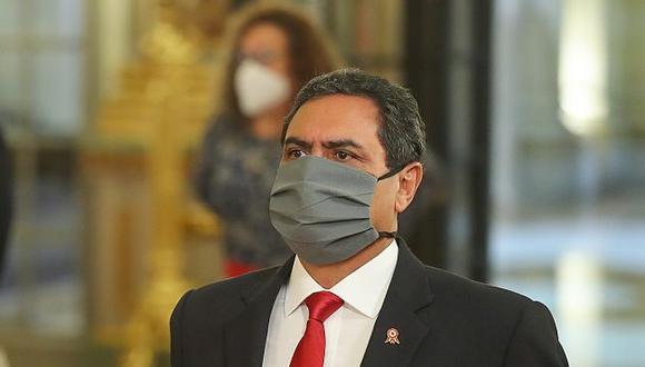 Jorge Montoya, ministro del Interior. (Foto: Presidencia de la República)