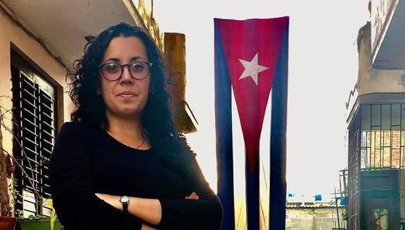 """España exige a Cuba la """"liberación inmediata"""" de la periodista de ABC Camila Acosta, que fue detenida por informar de las protestas. (Redes sociales)."""