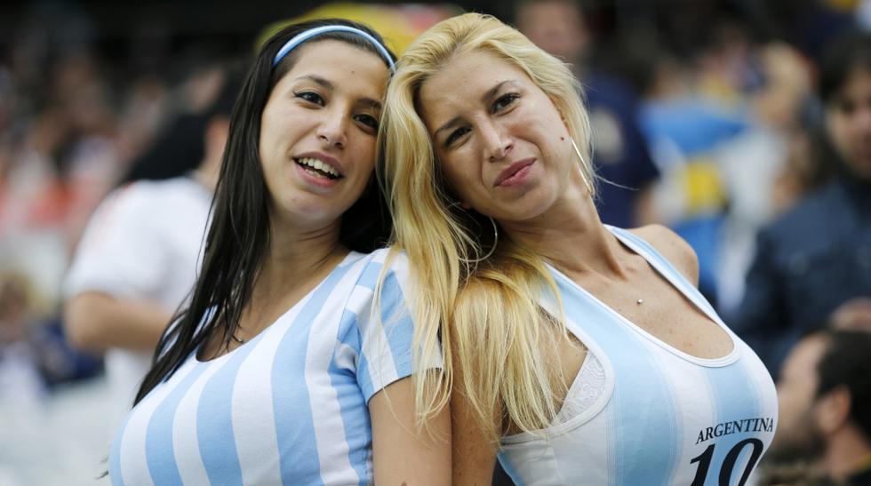 Holanda vs. Argentina: las hinchas más bellas en Sao Paulo - 1