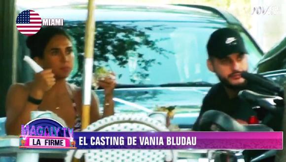 Vania Bludau es captada con misterioso galán tras el fin de su relación con el abogado Frank Dello Russo. (Foto: Captura ATV)