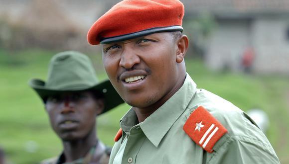 """El exjefe guerrillero Bosco Ntaganda, de la República Democrática del Congo, y apodado como """"Terminator"""" fue sometido a la justicia de la Corte Penal Internacional por sus atrocidades. (AFP)"""