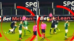 Arquero agredió a su compañero de equipo por un error que terminó en gol del rival