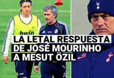 Mourinho responde a la provocación de Mesut Özil en el Tottenham