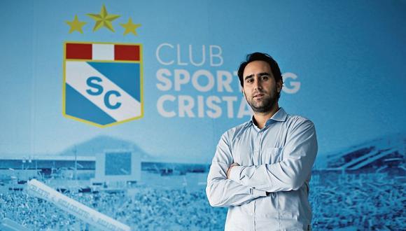 Joel Raffo, gerente de Sporting Cristal. (Foto: Jesús Saucedo/ GEC)