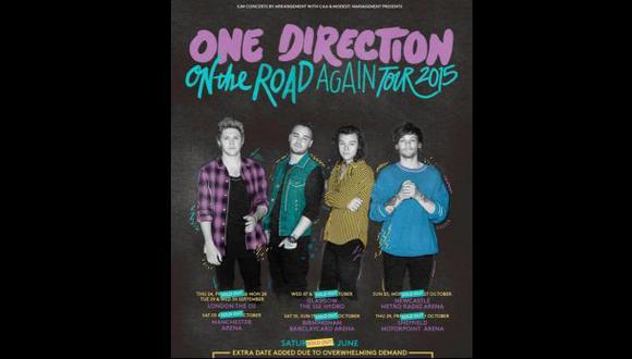 One Direction presentó su póster oficial sin Zayn Malik