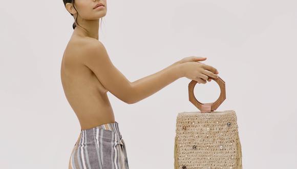 El uso de bolsos con fibras vegetales -como el junco- viene desde la época precolombina. (Fotos: Galera Perú)