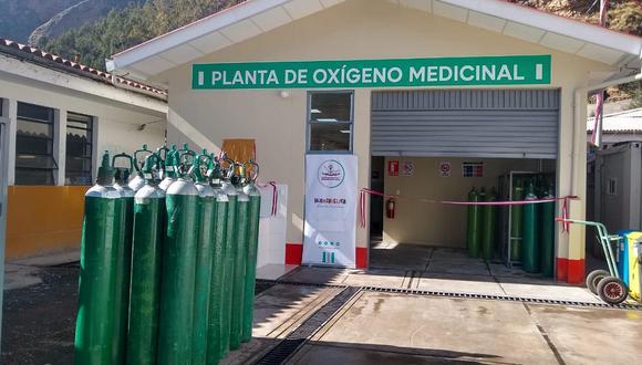 Planta de oxígeno de Huancavelica.