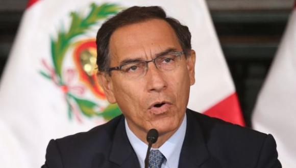 Vizcarra está proponiendo una agenda de acción republicana que va a cambiar las reglas de juego de la institucionalidad pública. (Foto: Presidencia)