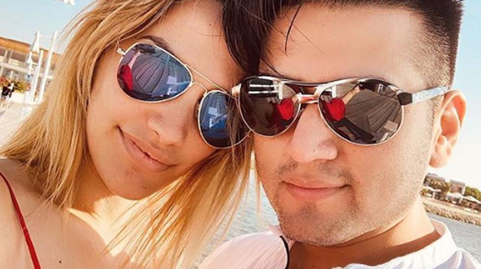 Cassandra Sánchez y Deyvis Orosco. (Foto: Instagram)