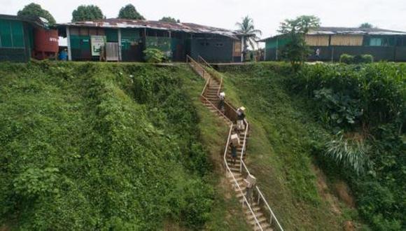 Amazonas: entregan medicinas y equipos médicos contra el coronavirus (Foto difusión).