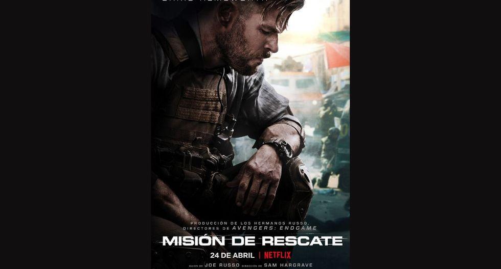 La película está siendo protagonizada por Chris Hemsworth. (Netflix / Difusión).